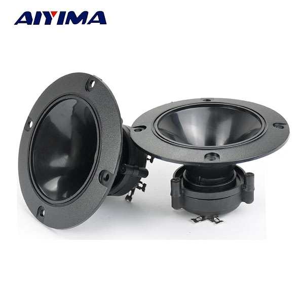 AIYIMA 2PC Audio Tweeters 98MM Piezoelectric Tweeter Audio Speaker 150W Treble Ceramic Piezo Loudspeakers