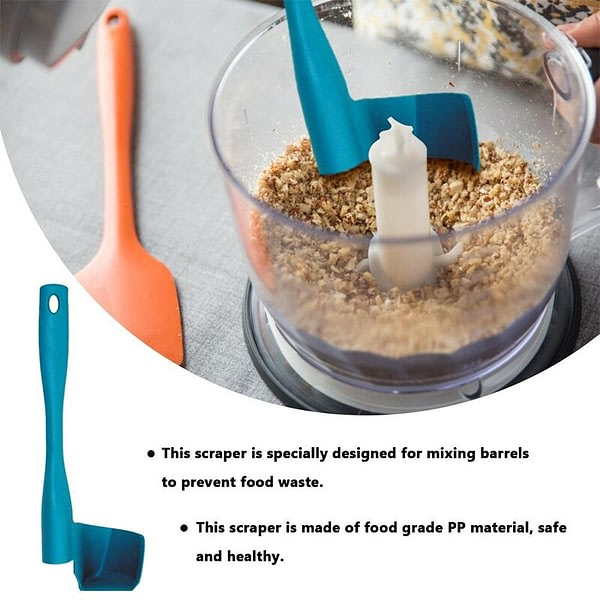 Rotating Spatula for Kitchen Thermomix TM5/TM6/TM31 Removing Portioning Food Multi-function Rotary Mixing Drums Spatula