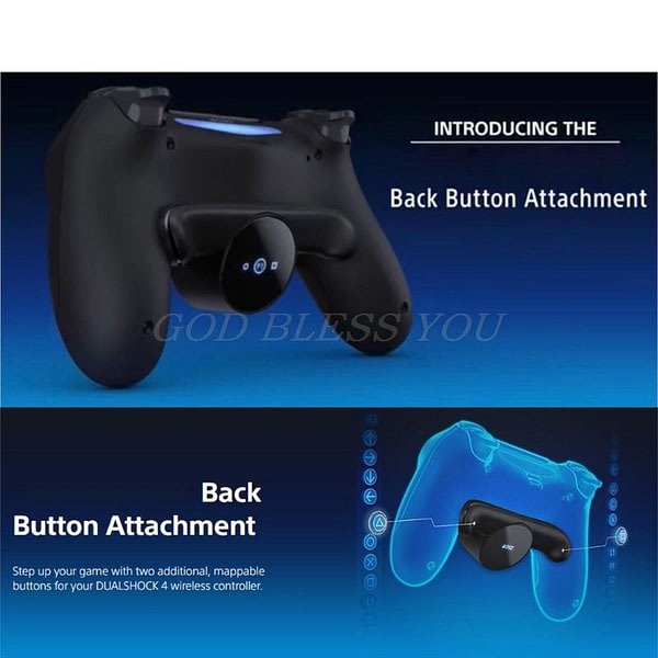 Extension Keys Replacement For S-O-N-Y PS4 Gamepad Back Button Attachment DualShock4 Joystick Rear Buttons Accessories