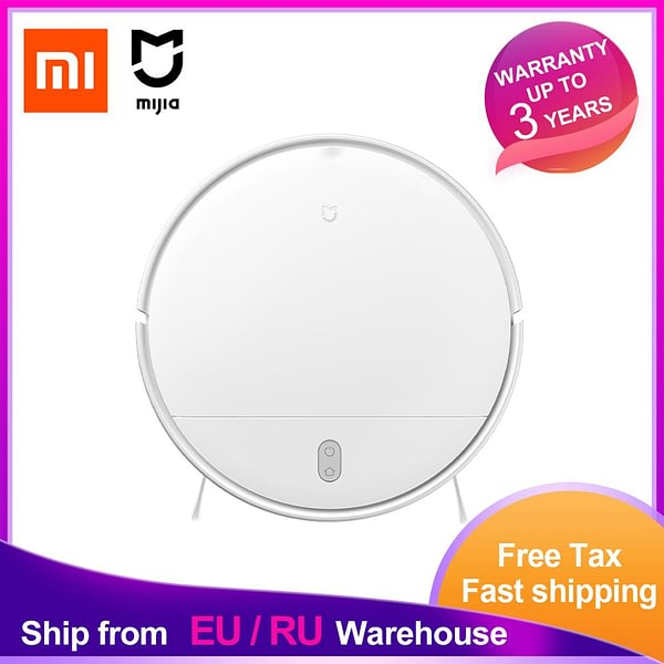 Xiaomi Mijia Robot Vacuum Cleaner G1 Wet Mopping Auto Sweeping Dust Sterilize 2200PA Cyclone Suction Smart Planned Map MJSTG1 CN