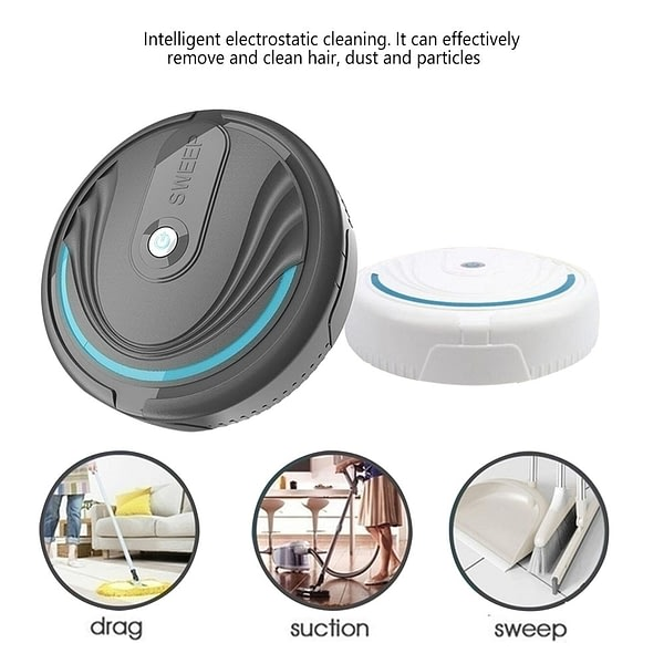 Multifunctional Robot vacuum cleaner 3-In-1 Auto Rechargeable Smart Sweeping Robot Dry Wet Sweeping Vacuum Cleaner