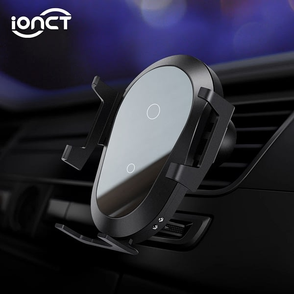 iONCT 10W Fast Wireless Car Charger For IPhone 11 XS XR X 8 Qi Charging stand Mount Gravity Car Phone Holder for Samsung S10 S9
