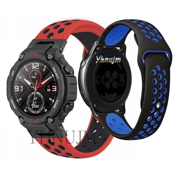 Xiaomi Huami Amazfit T-REX Strap Smart watch Silicone StrapS Replaceable accessories watchband Amazfit T rex band Bracelet