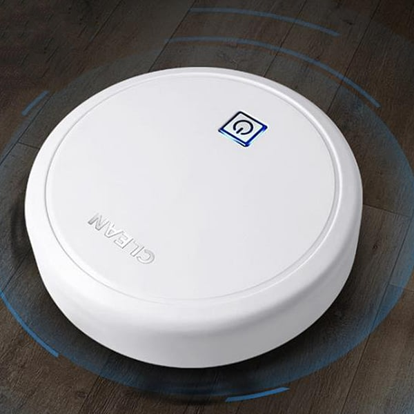 Robot Vacuum Cleaner a Key to Start Low Noise Small Household Automatic and Clean Smart Vacuum Cleaner