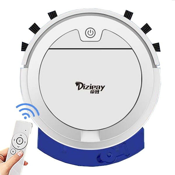 2800Pa Robot Vacuum Cleaner With Water Tank Remote Control Wet And Dry Ultra-thin Vacuum Cleaner For Home Sweeping And Mopping