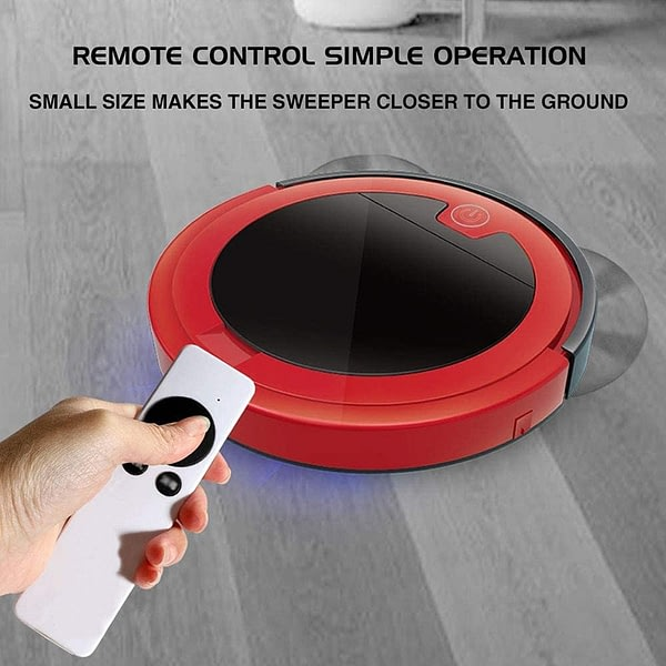 Robot Vacuum 2800Pa Robotic Vacuum Cleaner Max Suction Multiple Cleaning Modes for Pet Hard Floor Carpet with Remote Controller