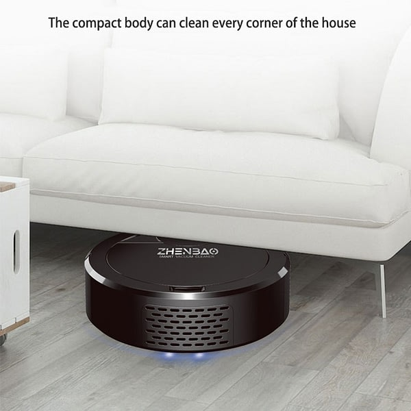Wireless Robot Vacuum Cleaner 1000PA USB Charging Automatic Random Mode Cleaning Sweeping Smart Vacuum Cleaner for Home