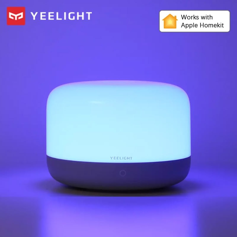 Yeelight Smart Table Lamp D2 Led RGBW Light WiFi Remote Control Dimmable Intelligent Home Lights Work With Homekit Google Home